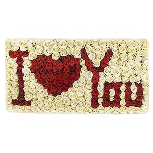 фото 301 троянда «Я кохаю тебе»